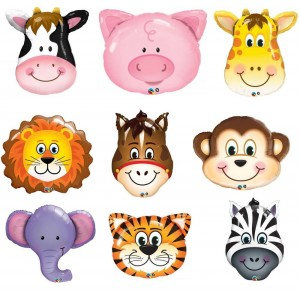 Qualatex Large Animal Foil Balloon (various)