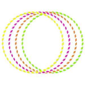 5pc x Juggle Dream Hula Hoops (Bundle)
