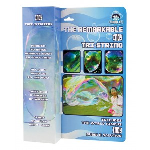 Indy Remarkable Tri-String Bubble Wand - 12pc CDU