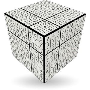 V-Cube Sudoku - 3 x 3 Straight Cube