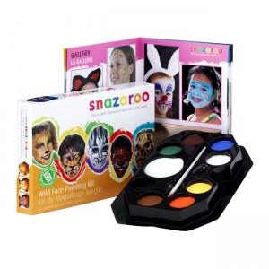 Snazaroo Wild Faces Painting Kit