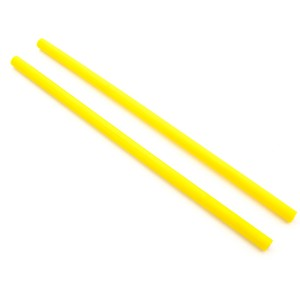 Yellow Silicon Handsticks - 12mm Dowel - 2mm Thick - Pair