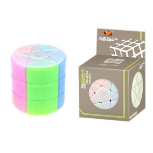 YJ Cube - Column Colourful Stars Cylinder