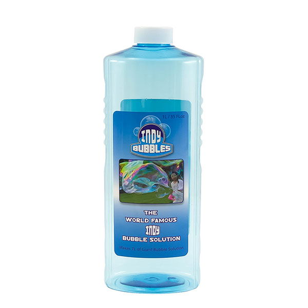Indy Giant Bubble Concentrate Solution - 1 Litre - 6pc Case