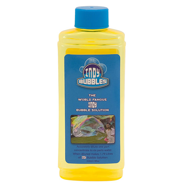 Indy Bubbles Giant Bubble Concentrate 256 Millilitre - 24pc Case