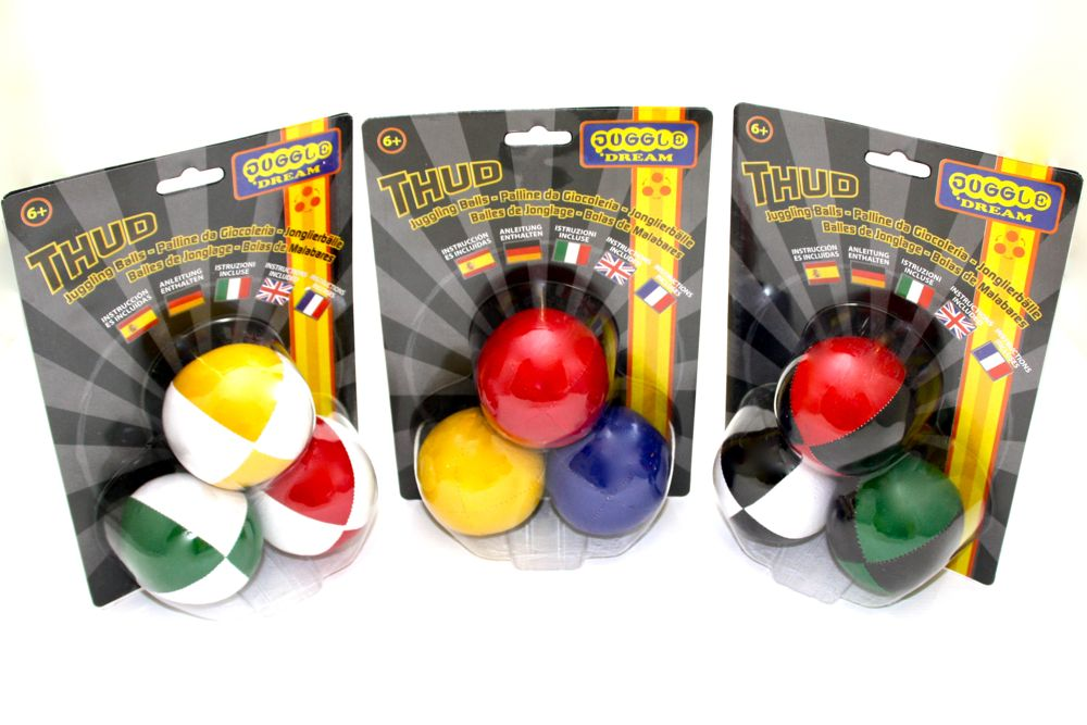 3 x Juggle Dream Thuds – Pack