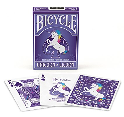 Bicycle Unicorn Playing Card Deck